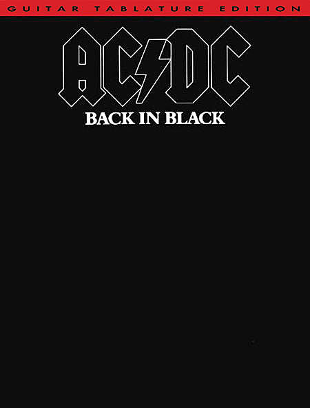 Image of   AC/DC:BackInBlackTab lærebog