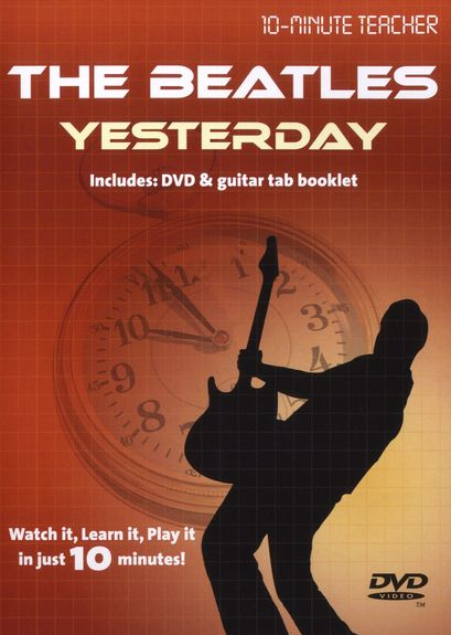Image of   10-MinuteTeacher:TheBeatles-Yesterday DVD
