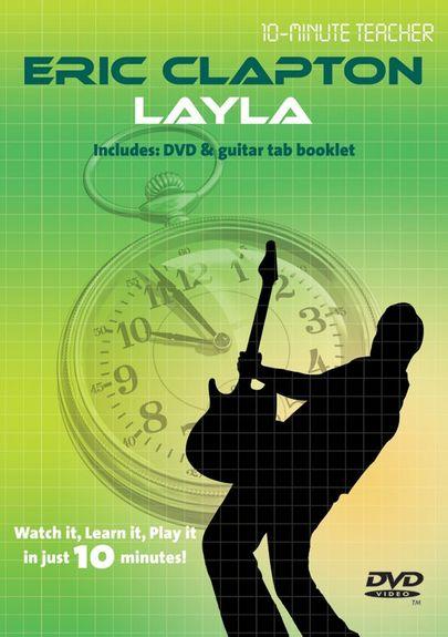 Image of   10-MinuteTeacher:EricClapton-Layla DVD
