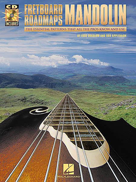 Billede af FretboardRoadmaps:Mandolin lærebog