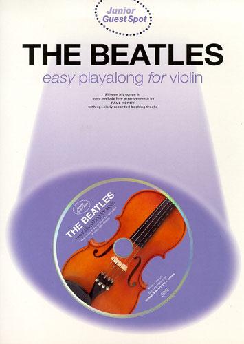 Image of   TheBeatles-EasyPlayalongViolin lærebog