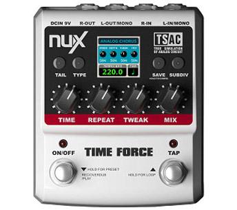 Billede af Nux TimeForce multi-delay-/loop-guitar-pedal