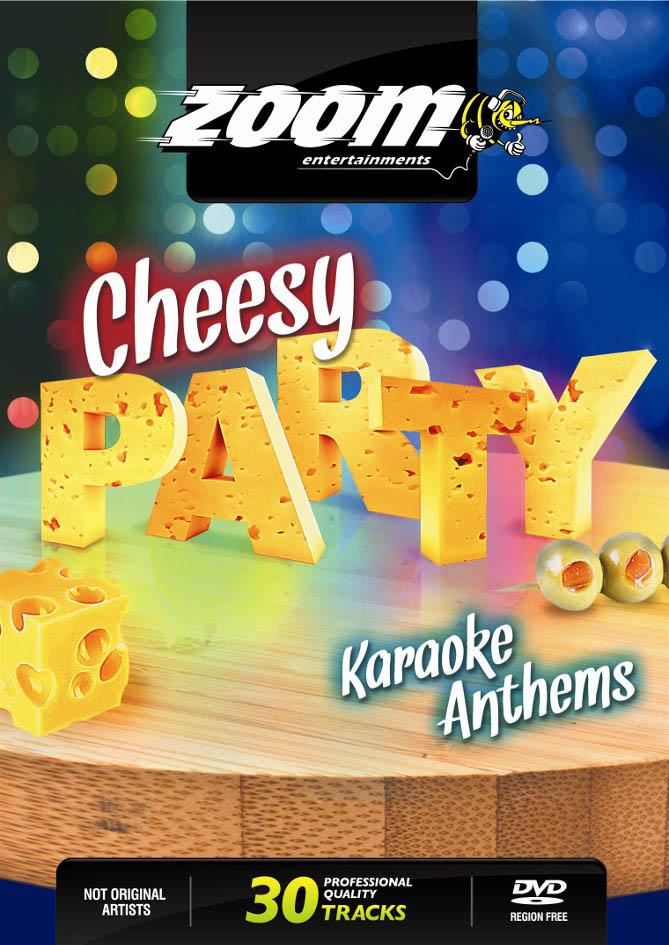 Billede af CheesyPartyKaraokeAnthems karaoke-DVD