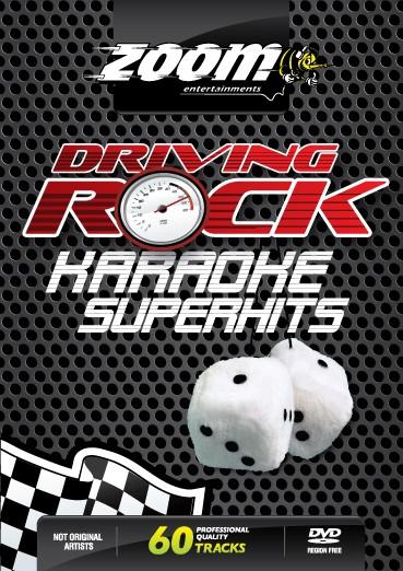 Billede af ZoomDrivingRockKaraoke karaoke-DVD