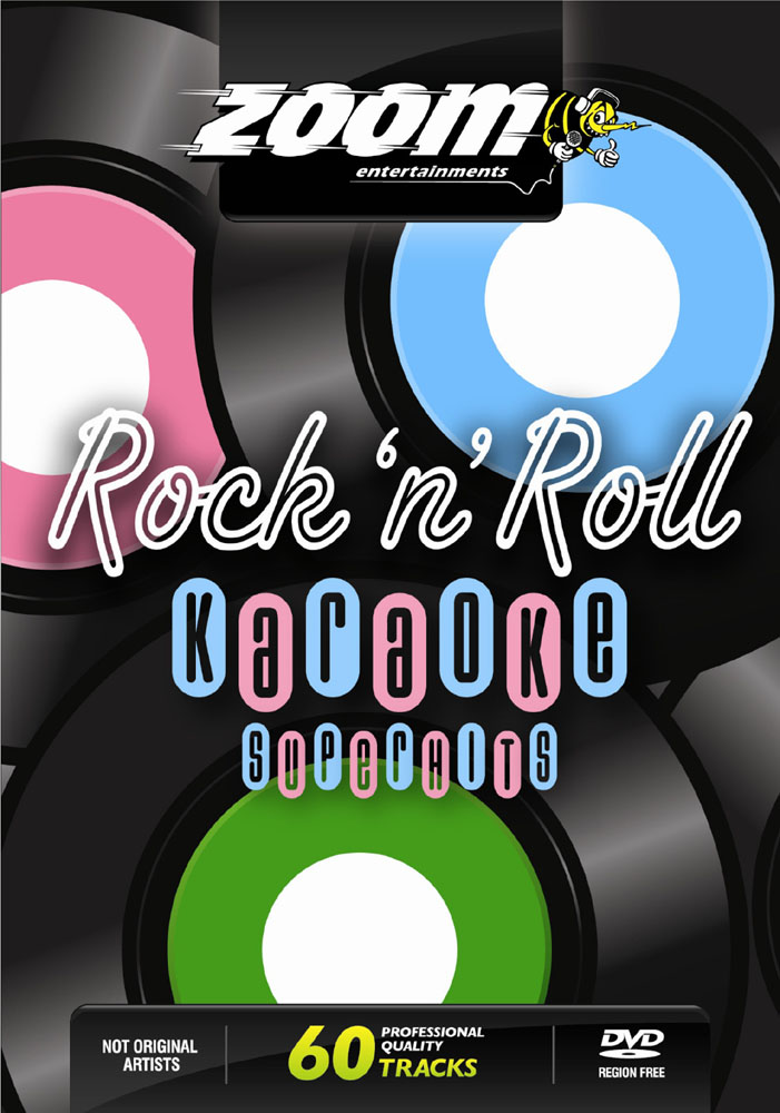 Billede af ZoomRocknRollSuperhits karaoke-DVD
