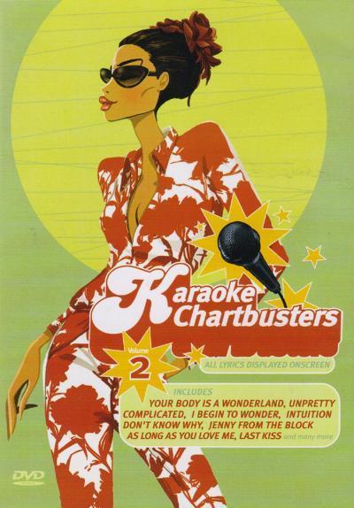 Billede af MRAKaraokeChartbustersVolume2 karaoke-DVD