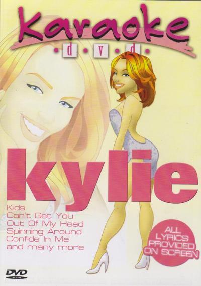 Billede af MRAKylie karaoke-DVD