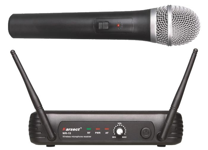 Billede af Karsect WR-15HT15 trådløsthåndholdtmikrofon-sæt