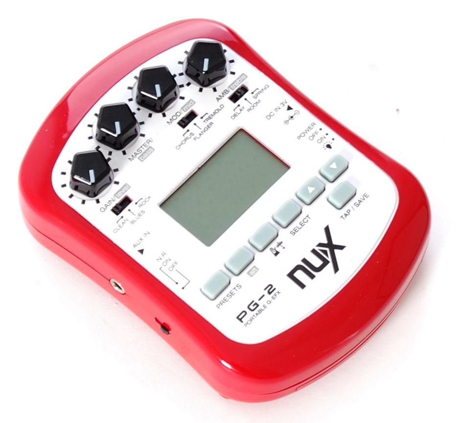 Billede af Nux PG-2 guitar-effekt-processor