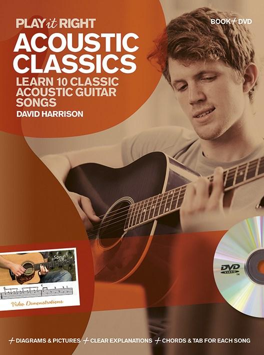 Billede af PlayItRight-AcousticClassics lærebog