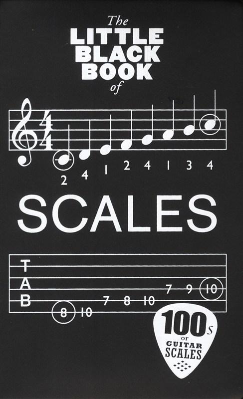 Billede af TheLittleBlackBookOfScales lærebog