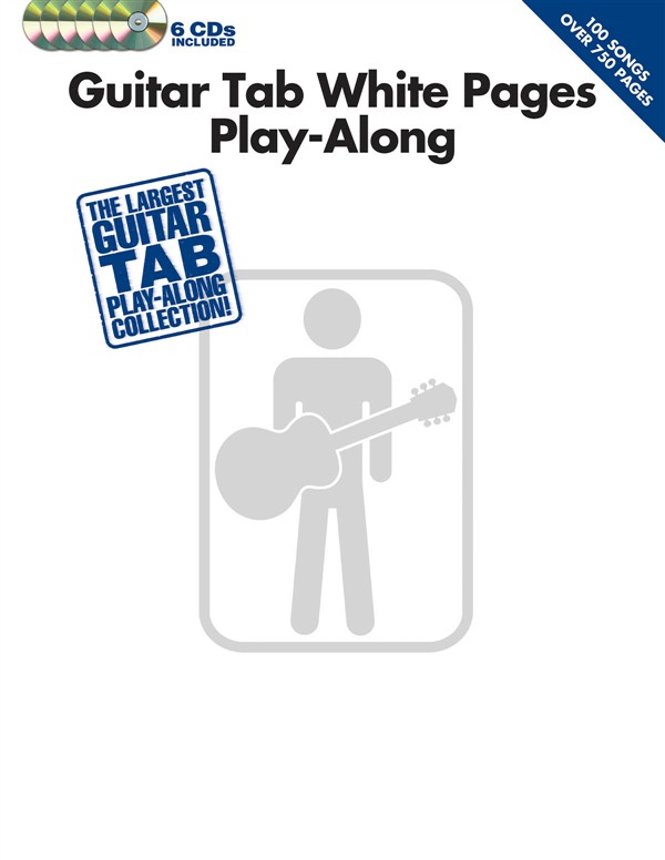 Billede af GuitarTabWhitePagesPlay-Along lærebog