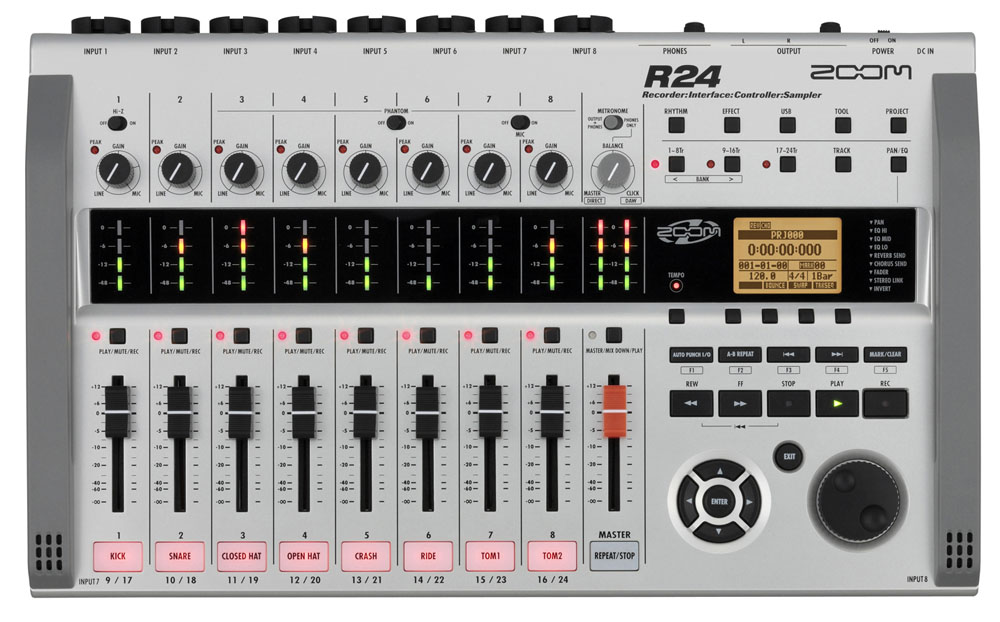 Image of   Zoom R24 harddisk-recorder/audiointerface
