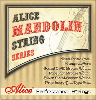 Billede af Alice AM07 mandolin-strenge