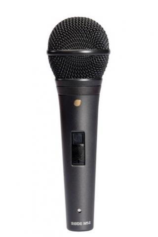 Røde M1-S dynamisklive-mikrofonm/switch