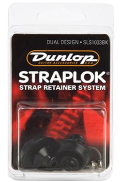 Dunlop StraplokDualDesignSLS1033BK guitar-remlås sort