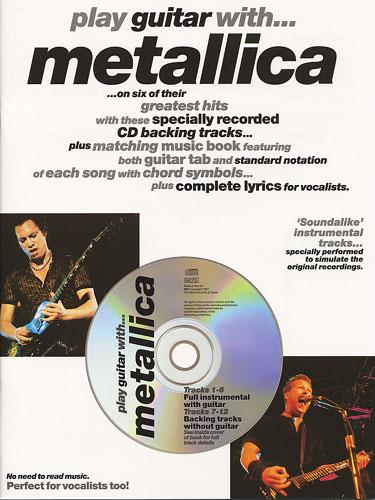 Billede af PlayguitarWith:Metallica lærebog