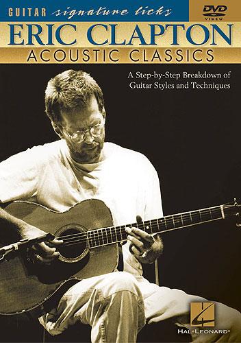 Billede af EricClapton:AcousticClassics DVD