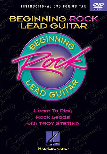 Billede af BeginningRockLeadguitarByTroyStetina DVD
