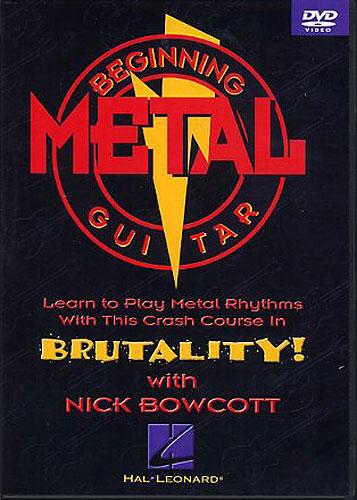Billede af BeginningMetalRhythmguitar DVD