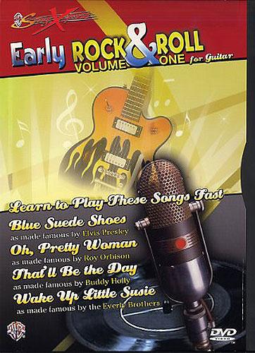 Billede af EarlyRockAndRollForguitar DVD