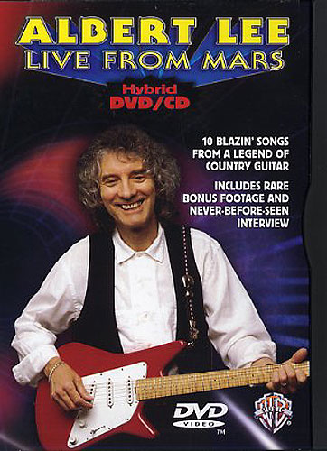 Image of   AlbertLee:LiveFromMars DVD