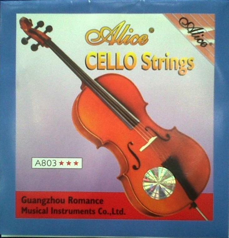 Billede af Alice A803 cello-strenge