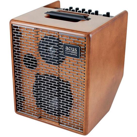 Billede af Acus OneForStrings5T-SIMON Wood akustiskguitar-forstærker træ
