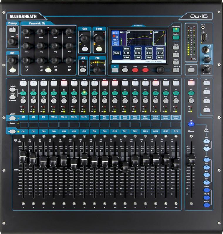 Image of   Allen&Heath QU-16 digitalmixer