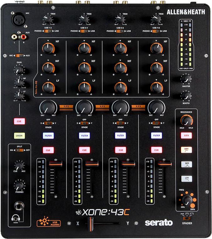 Billede af Allen&Heath Xone43C mixer