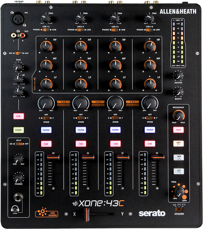 Image of   Allen&Heath Xone43C mixer