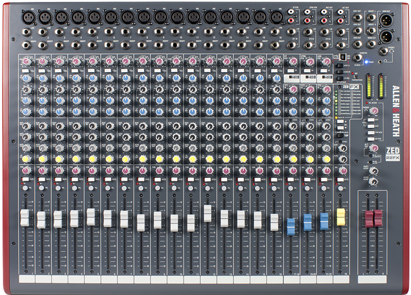 Image of   Allen&Heath ZED-22FX mixer