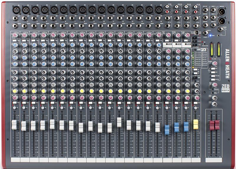 Billede af Allen&Heath ZED-22FX mixer