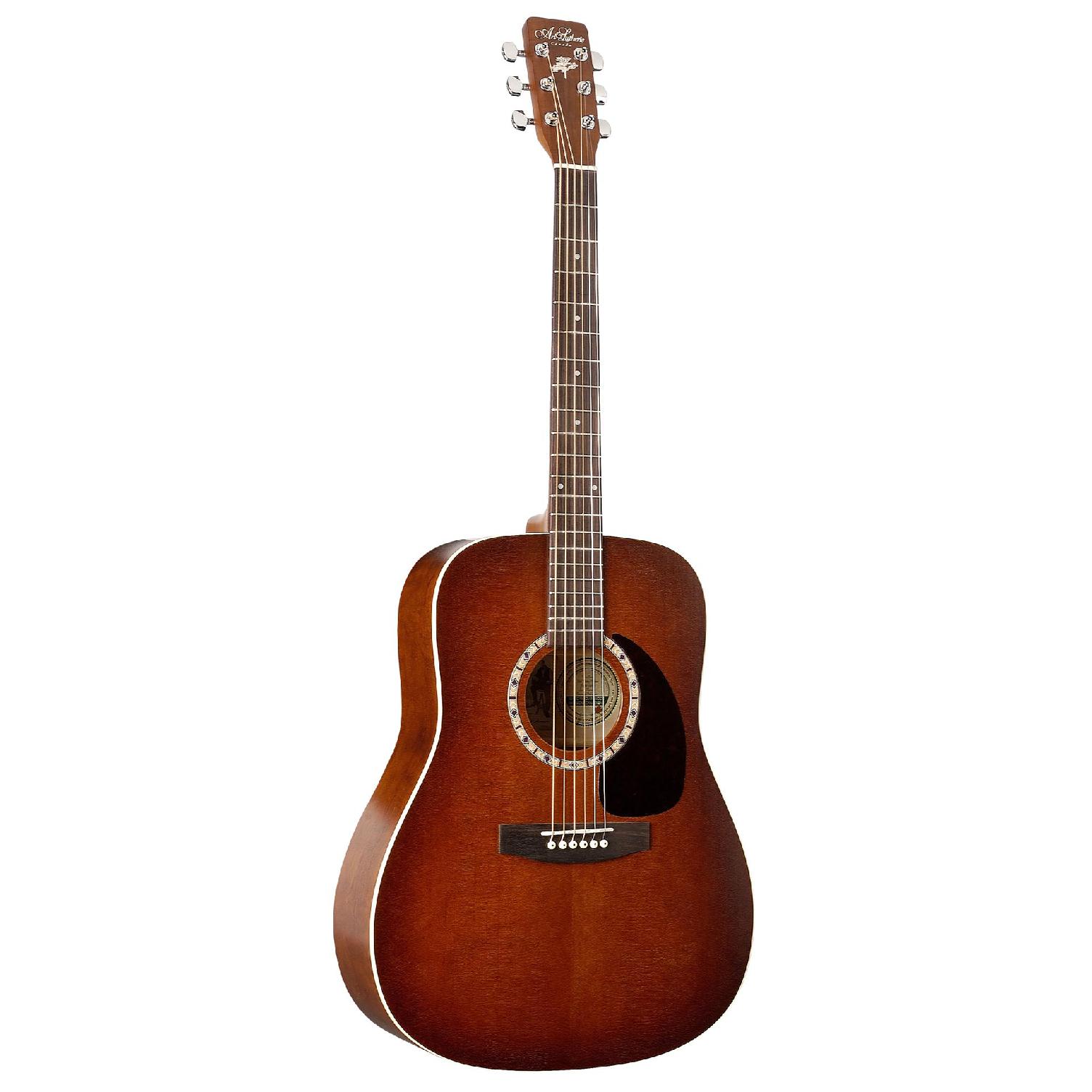 Billede af A&L DreadnaughtCedar western-guitar antiqueburst