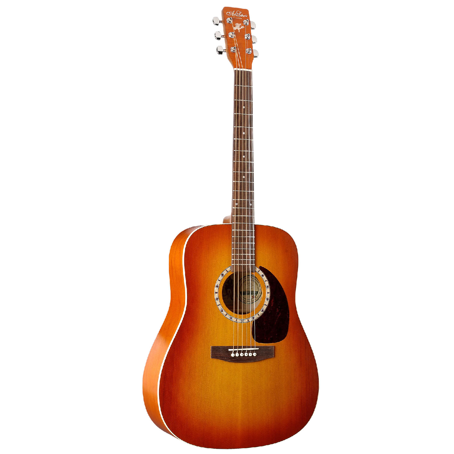 Image of   A&L DreadnaughtCedar western-guitar sunrise