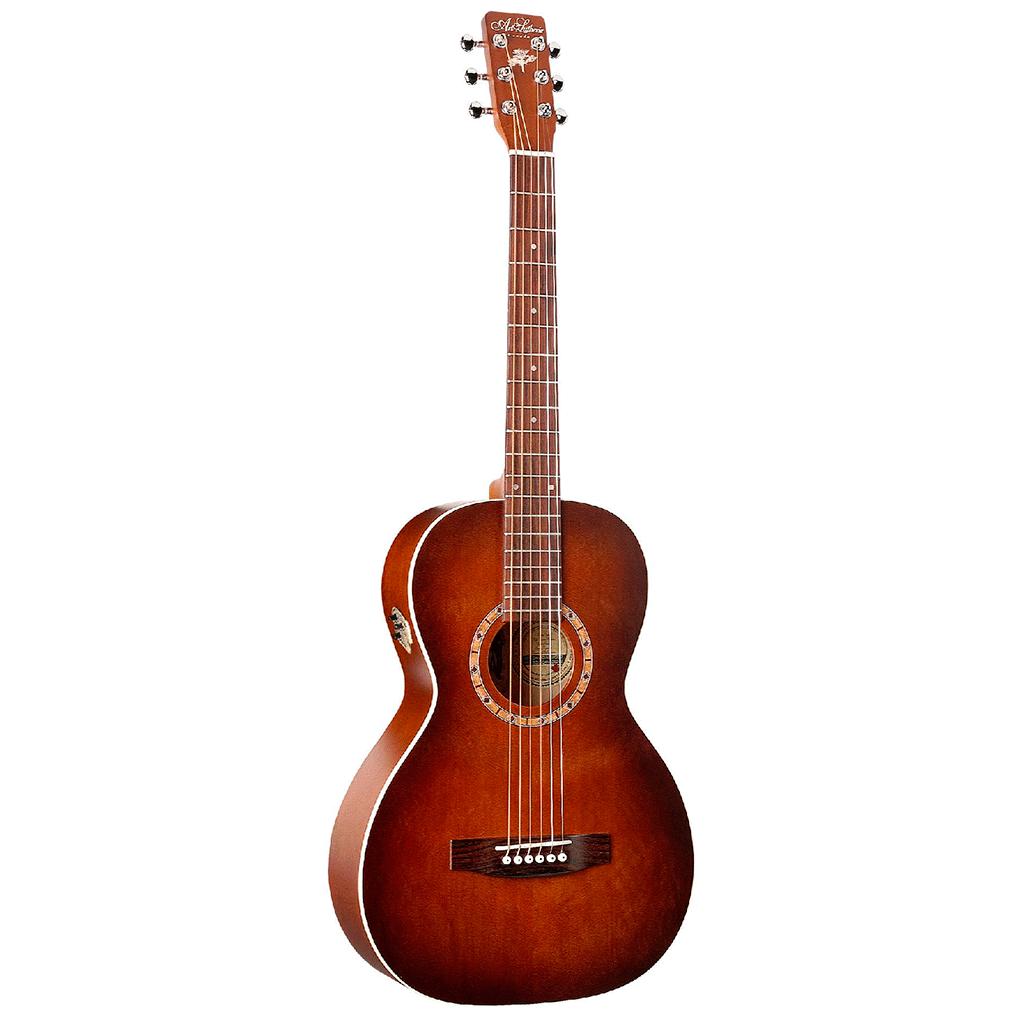 Billede af A&L AmiCedarQI western-guitar antiqueburst