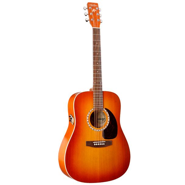 Image of   A&L DreadnaughtCedarQI western-guitar sunrise