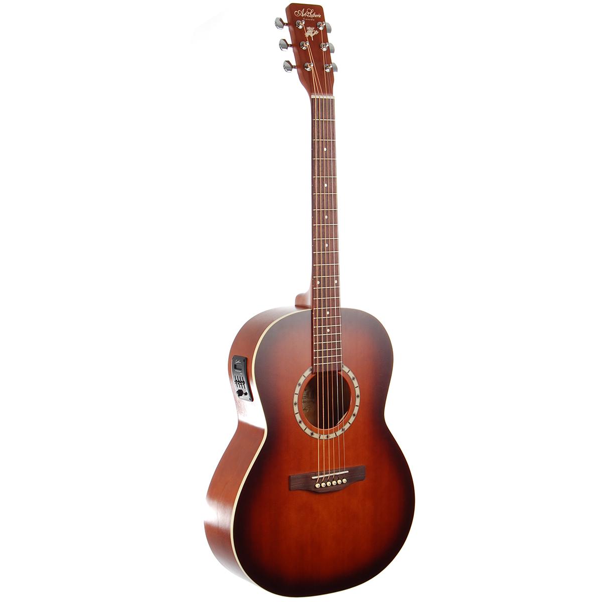 Billede af A&L FolkCedarQI western-guitar antiqueburst