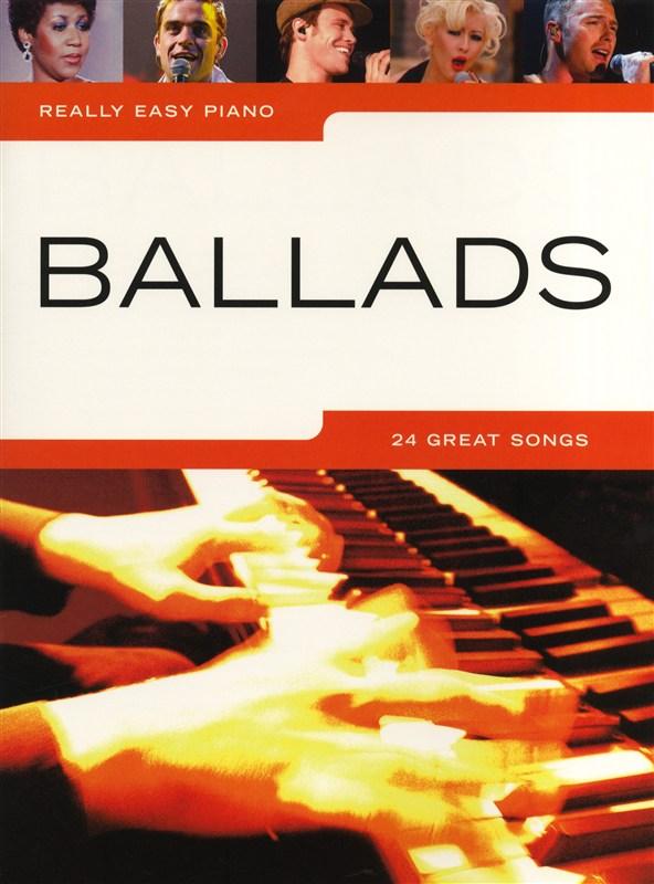 Billede af ReallyEasyPiano:Ballads nodebog