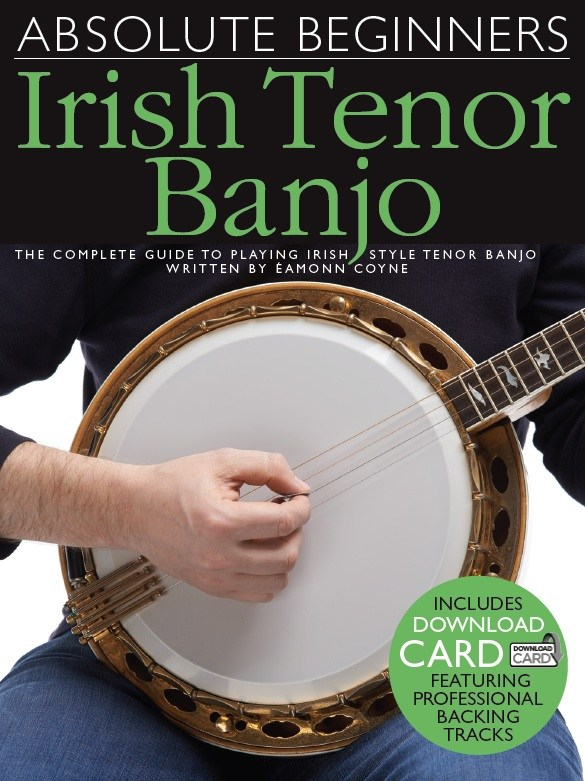 Image of AbsoluteBeginners:IrishTenorBanjo lærebog