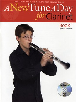ANewTuneADay:ClarinetBook1 lærebog