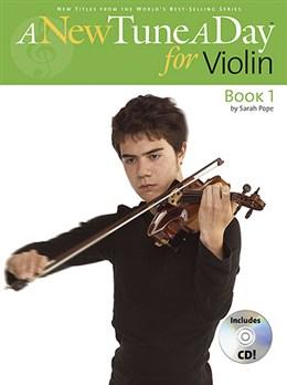 Billede af ANewTuneADay:ViolinBook1 lærebog