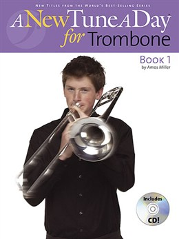 ANewTuneADay:TromboneBook1 lærebog