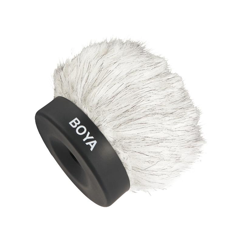 Boya BY-P50 vindhættetilshotgun-mikrofon