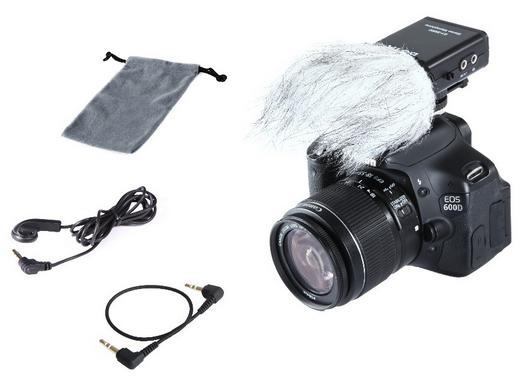 Billede af Boya BY-SM80 stereo-mikrofontilkamera