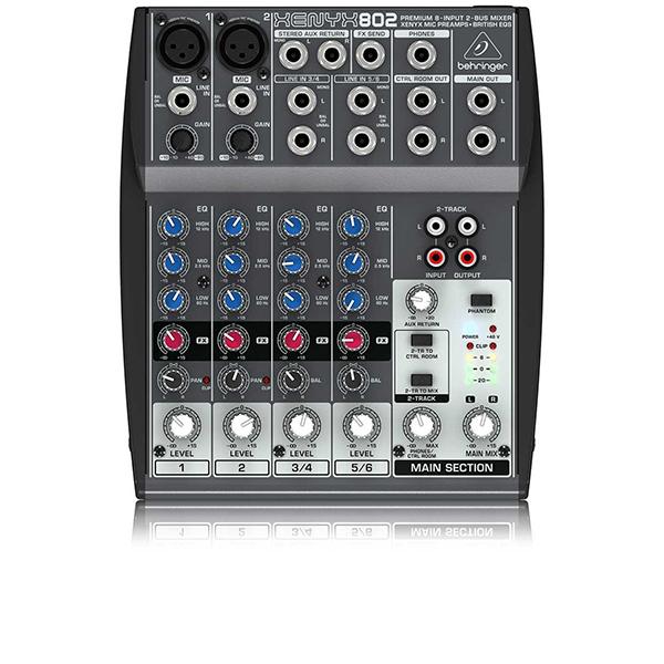 Billede af Behringer Xenyx802 mixer