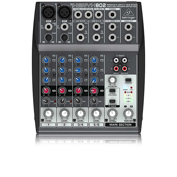 Image of   Behringer Xenyx802 mixer