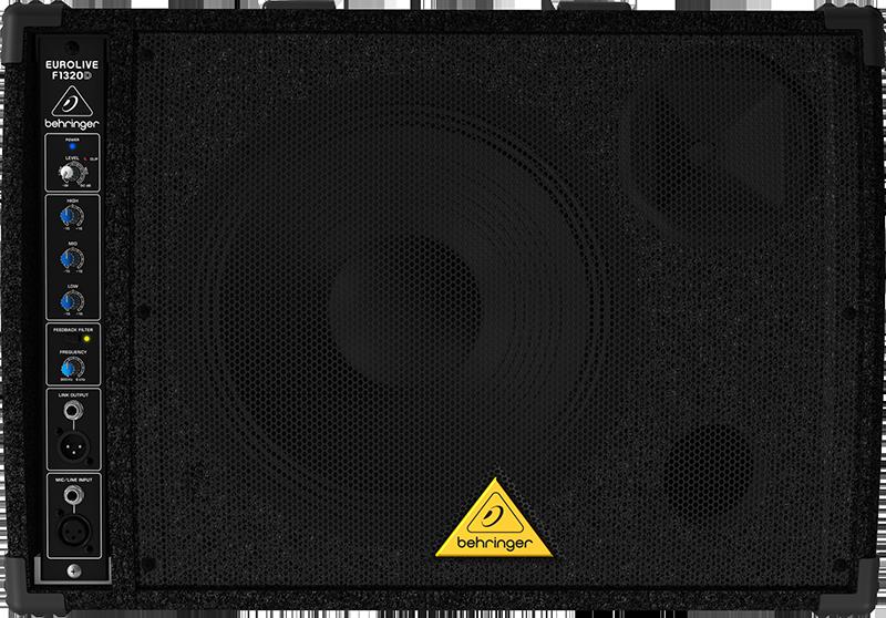 Billede af Behringer F1320DEurolive medhørs-monitor sort