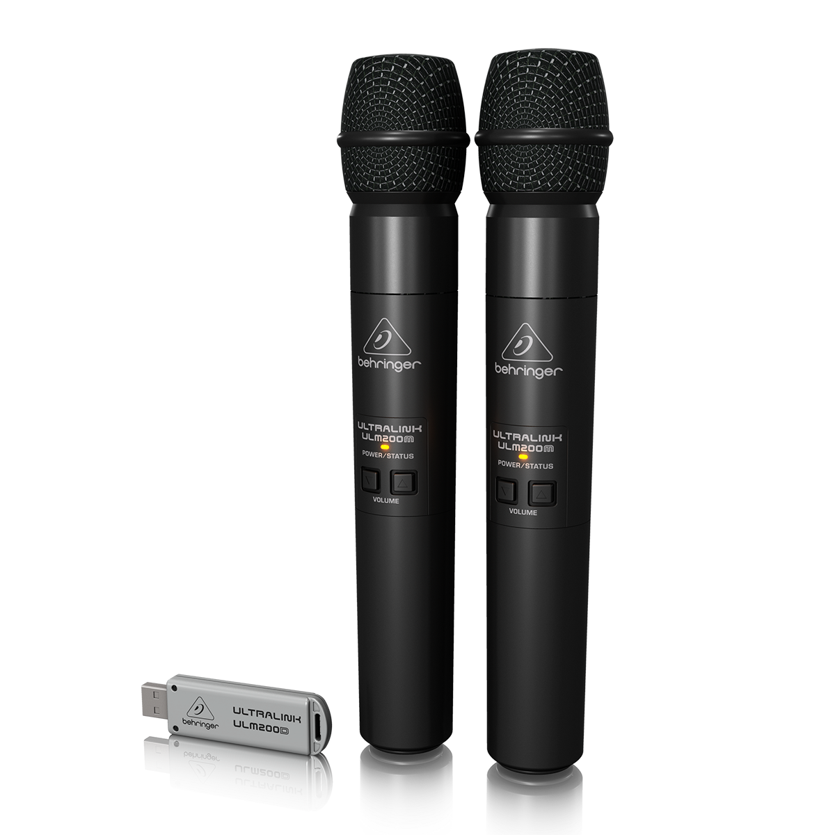 Billede af Behringer ULM202USB håndholdt,trådløsUSB-mikrofonx2