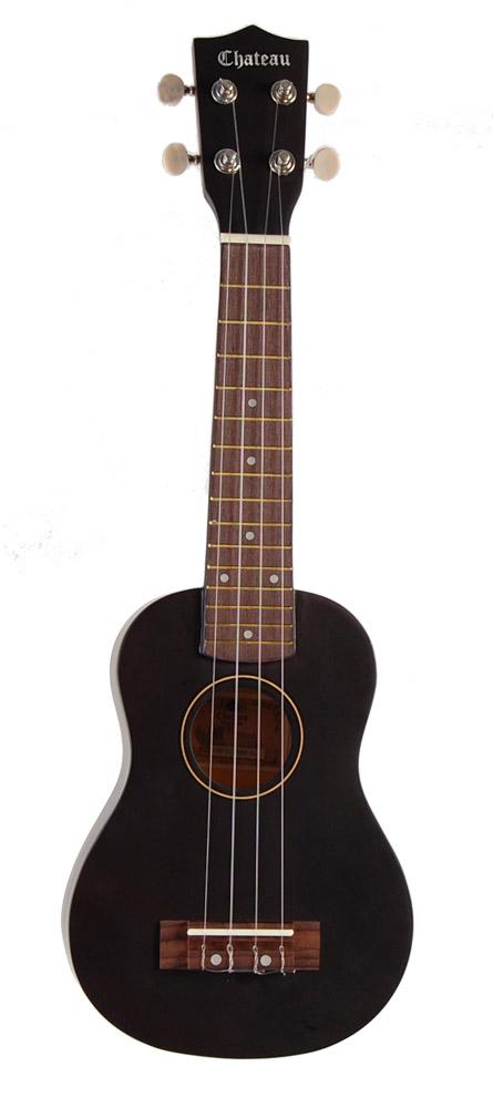Billede af Chateau C08-U1100-BK ukulele sort